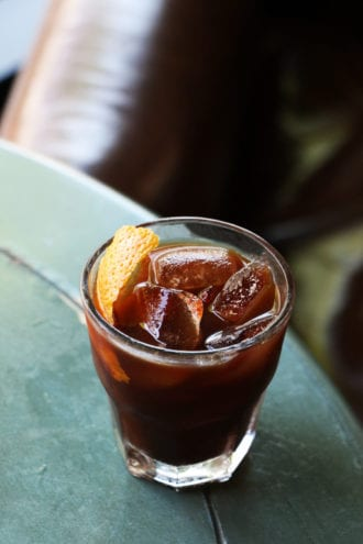 Walnut Coffee Old Fashioned
