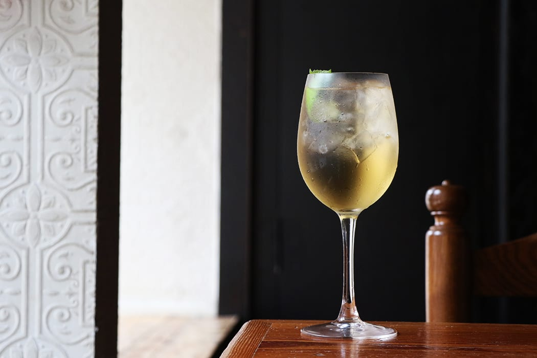 White Port and Tonic. | Photo by Emma Janzen.