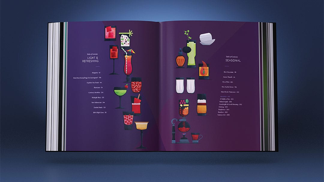 Instead of one central table of contents, the book features several, organized by style, so readers can choose their own adventure.