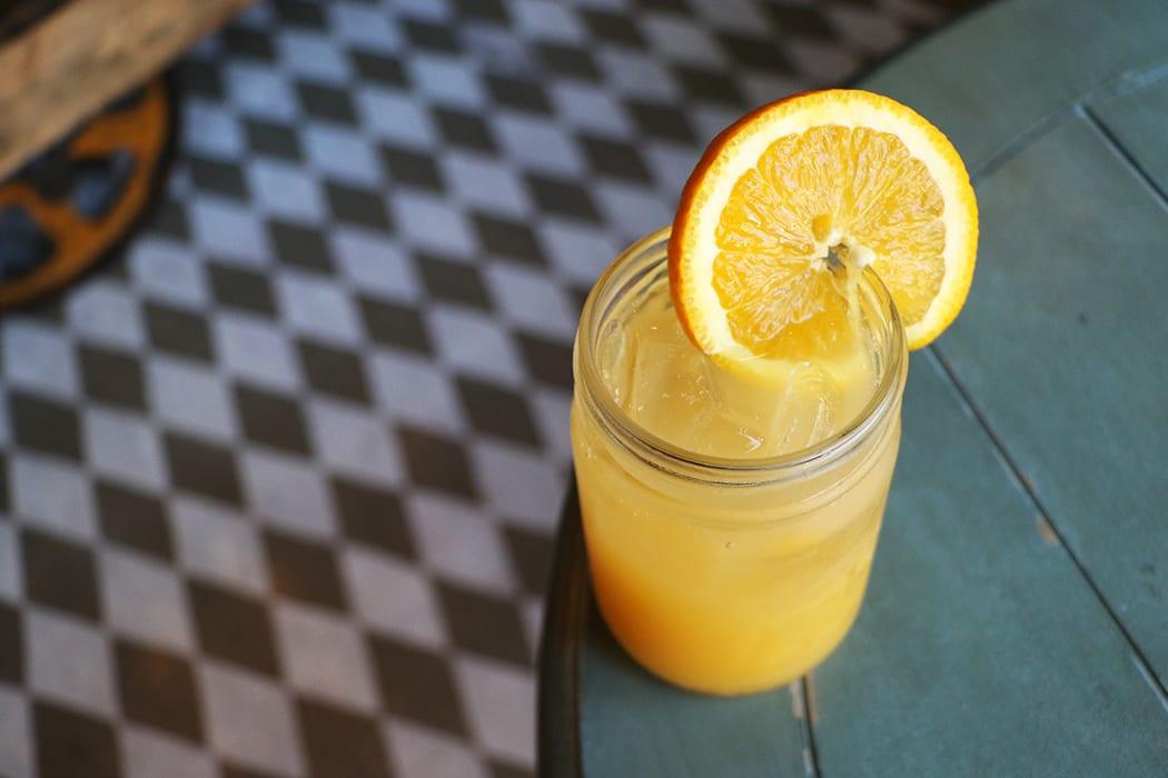 Jasmine Green Tea Mimosa.   Photo by Emma Janzen.