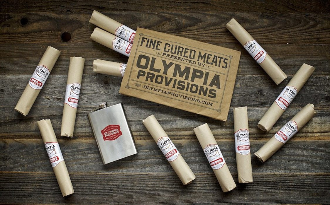 Olympia Provisions Salami of the Month. | $165, olympiaprovisions.com