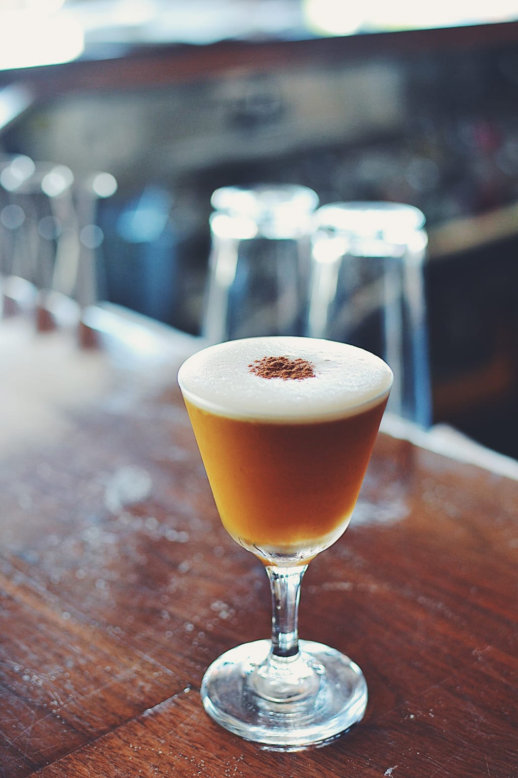 Harvard Sour. | Photo by Ned King.