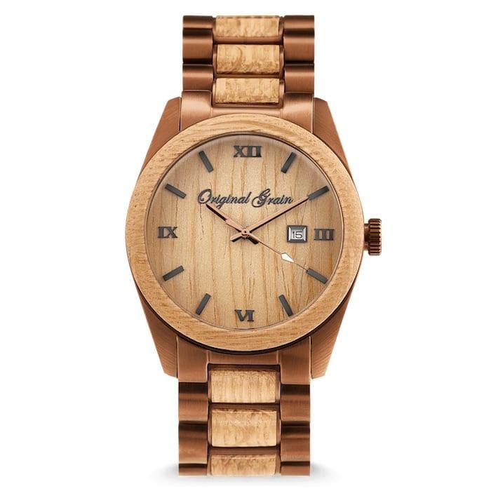 Original Grain Watch.$249, originalgrain.com