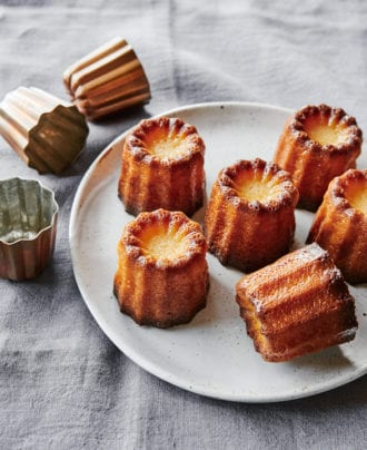 apple brandy canelés