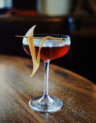 Winter Mezcal Cocktail