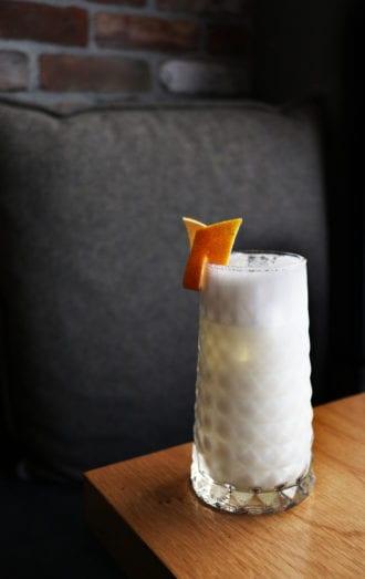 sotol milk punch