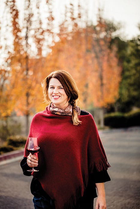 Wine Person of the Year Amy Bess Cook launched Woman-Owned Wineries (WOW), an online directory, editorial forum and wine club, to help more women succeed in the wine world. | Photo by Kelly Puleio.