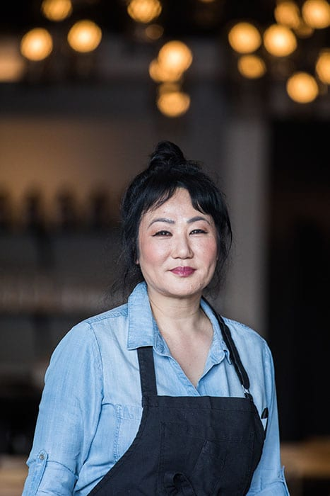 Bixi owner and executive chef Bo Fowler found inspiration in the unapologetically fiery food at Mission Chinese and the whimsy of Bixi, a mythical Chinese beast.