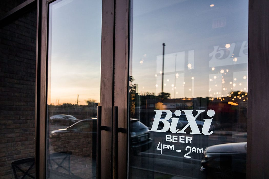 Bixi beer opened in Chicago's Logan Square neighborhood last summer.