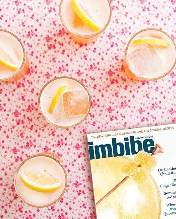 Imbibe Subscription. imbibemagazine.com, $14