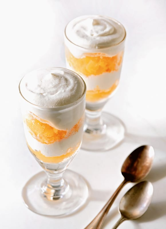 Orange Liqueur and Citrus Granita. | Photo by Aya Brackett.