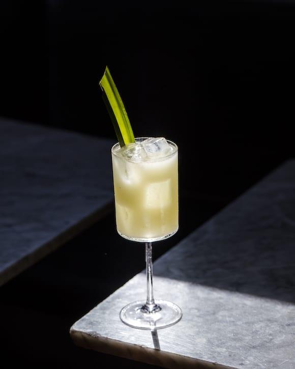 pandan cocktails