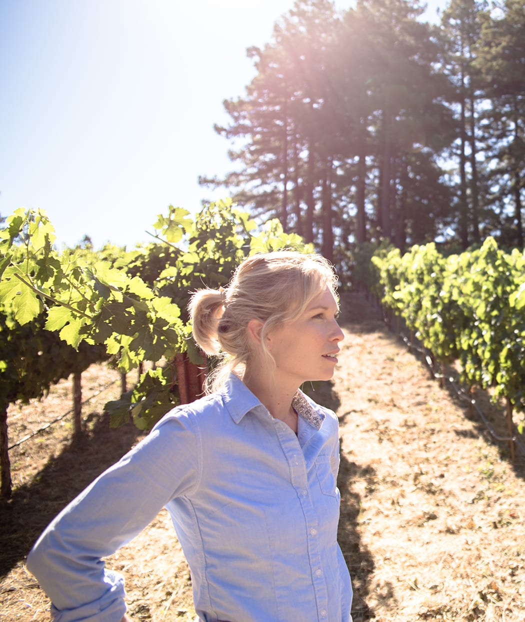 Diana Snowden Seysses is half of the A&D winemaking team. | Photo by Jena Malone.