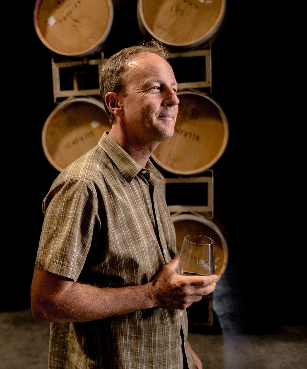 Steve Matthiasson is one of the two winemakers at Ashes and Diamonds. | Photo by Jena Malone.