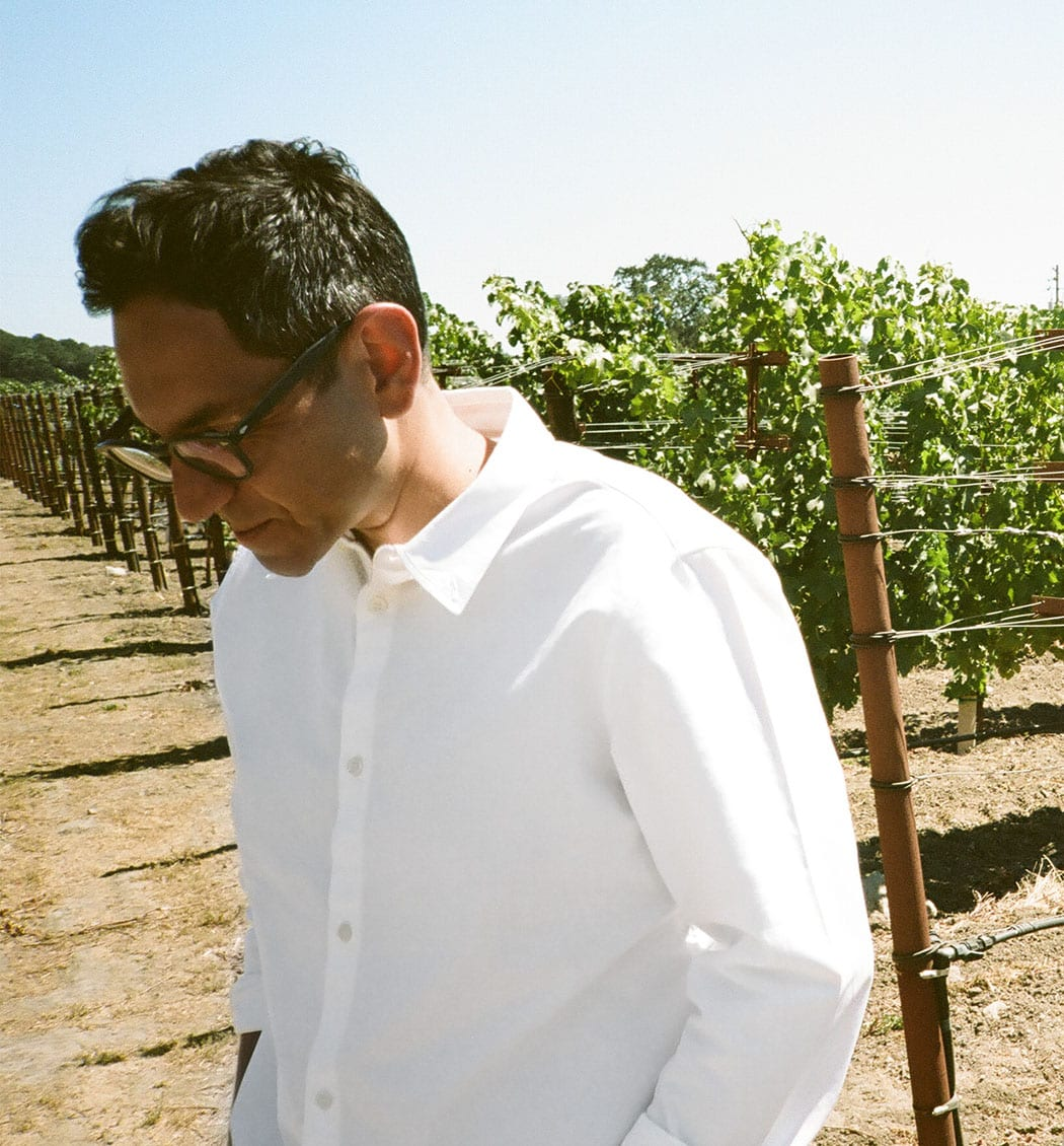 Kashy Khaledi left his day job as an advertising and marketing creative director to launch the winery. | Photo by Jena Malone.