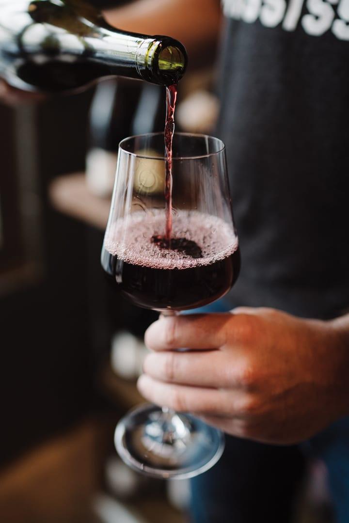 graft-wine pouring-crdt olivia rae james