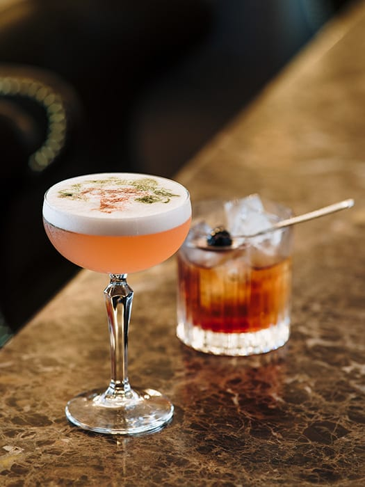 The ornate Cadier Bar takes a modern approach to cocktails, making this historic hotel comfortably at home in the 21st century.
