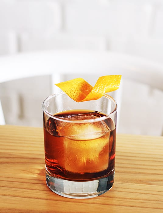 Fisher's Old Fashioned. | Photo courtesy of Sawyer.