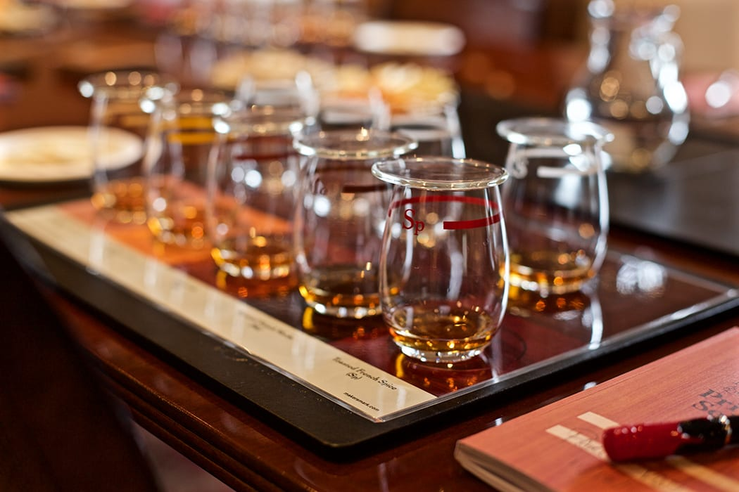 Guests are allowed to taste the whiskey as part of the tours.