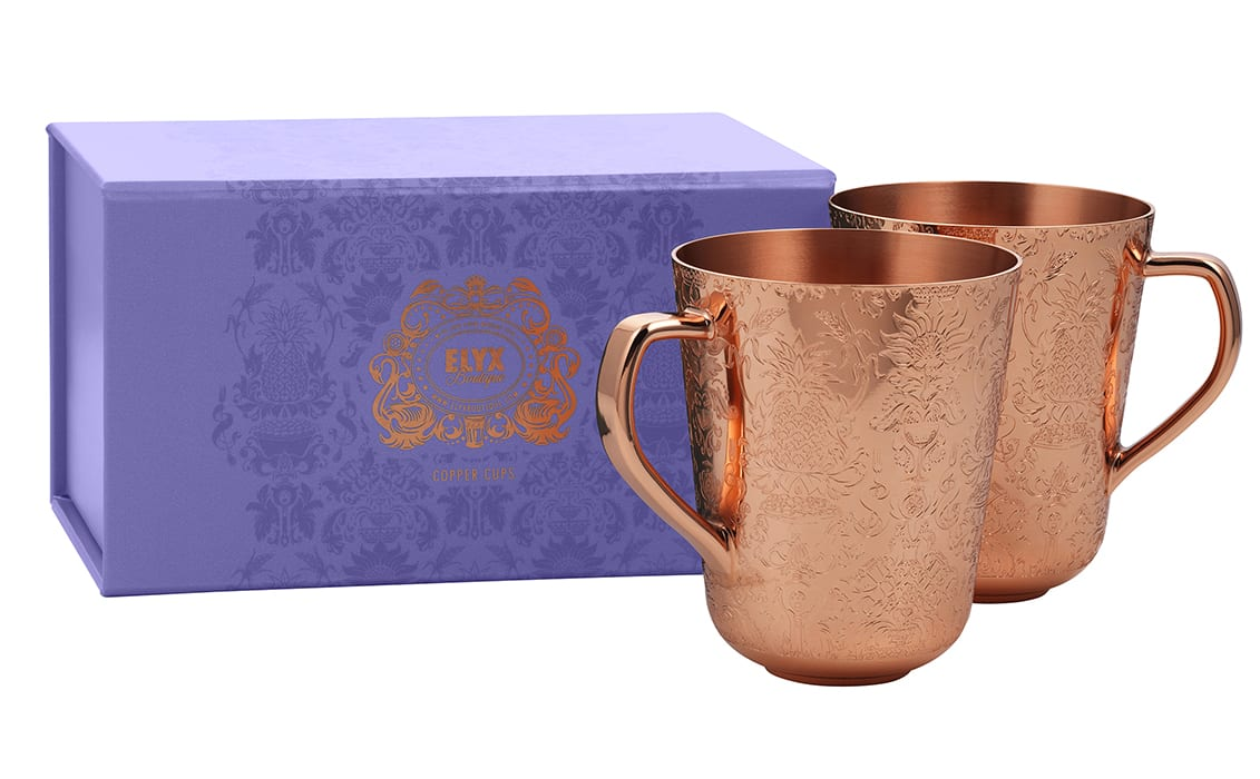 Elyx Mule Mug Set. | $79, elyxboutique.com
