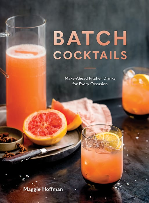 Batch Cocktails: Make-Ahead Pitcher Drinks for Every Occasion. | $13, amazon.com
