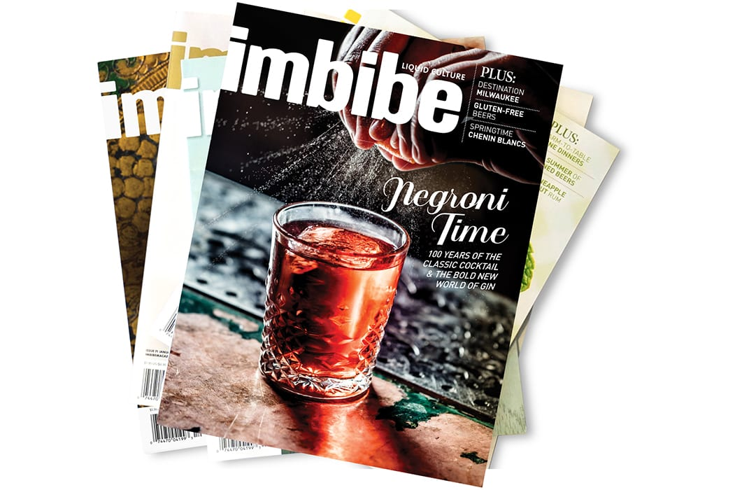 Imbibe Gift Subscription. |  $18, imbibemagazine.com