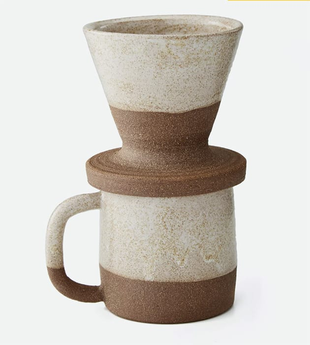 Uzumati Ceramics Snow Creek Coffee Set. | $70, huckberry.com