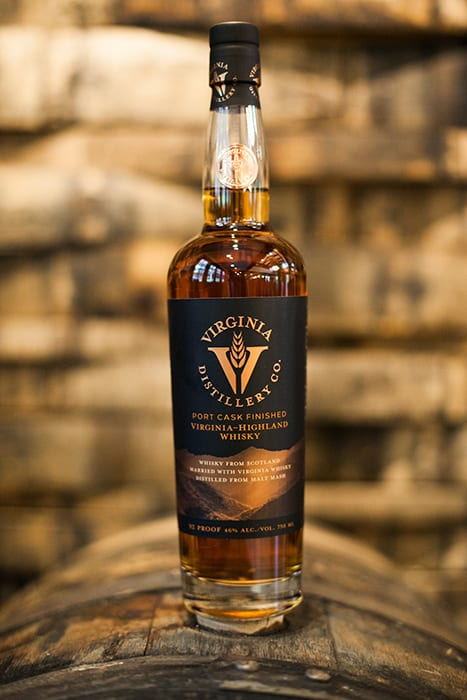Port Cask Finished Virginia-Highland Whisky. | $60, caskers.com. | Photo by Tom Daly.