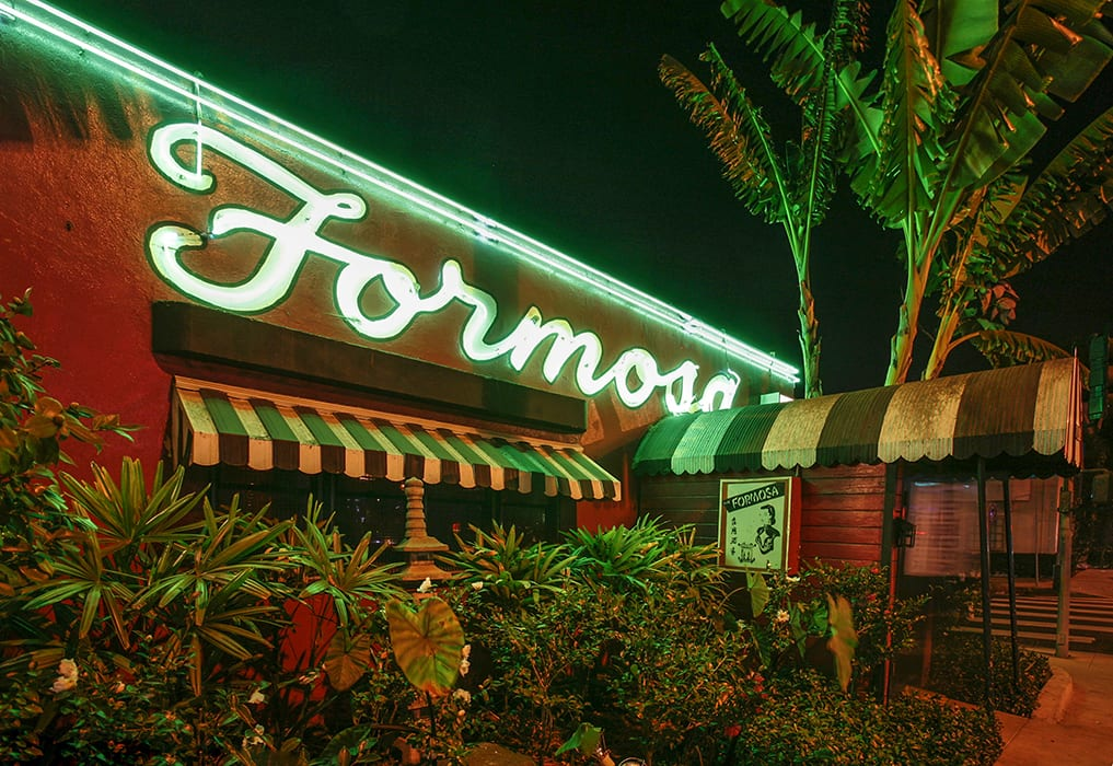The Formosa first opened in 1939. | Photo courtesy of the 1933 Group.