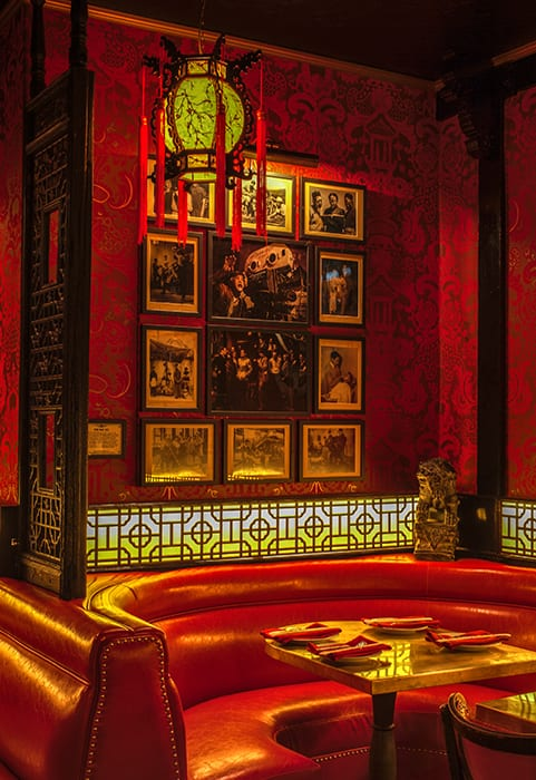 Ephemera decks the walls of the bar in every room, serving as a nod to the bar's rich history.