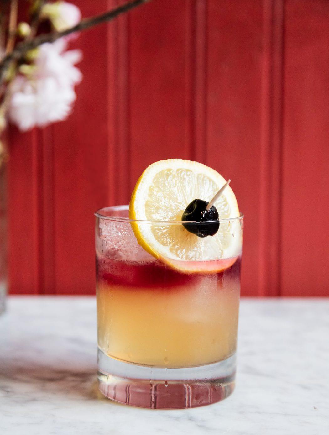 Cherry Point Sour Cocktail Imbibe Magazine