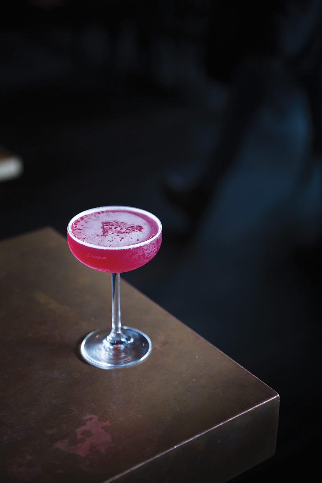 Jack's Rose Cocktail