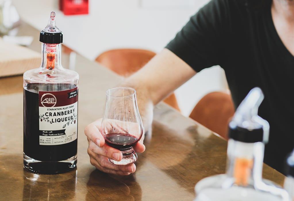 Adrift Cranberry Liqueur. | $21, shopadrifthotels.com