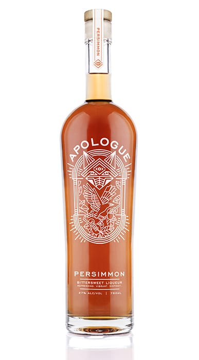 Apologue Persimmon Liqueur. | $35, www.binnys.com
