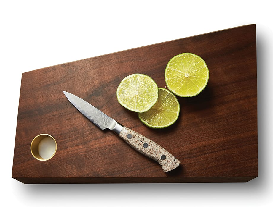 MADE x Imbibe Handmade Serving Board. | $180, imbibemagazine.com/shop