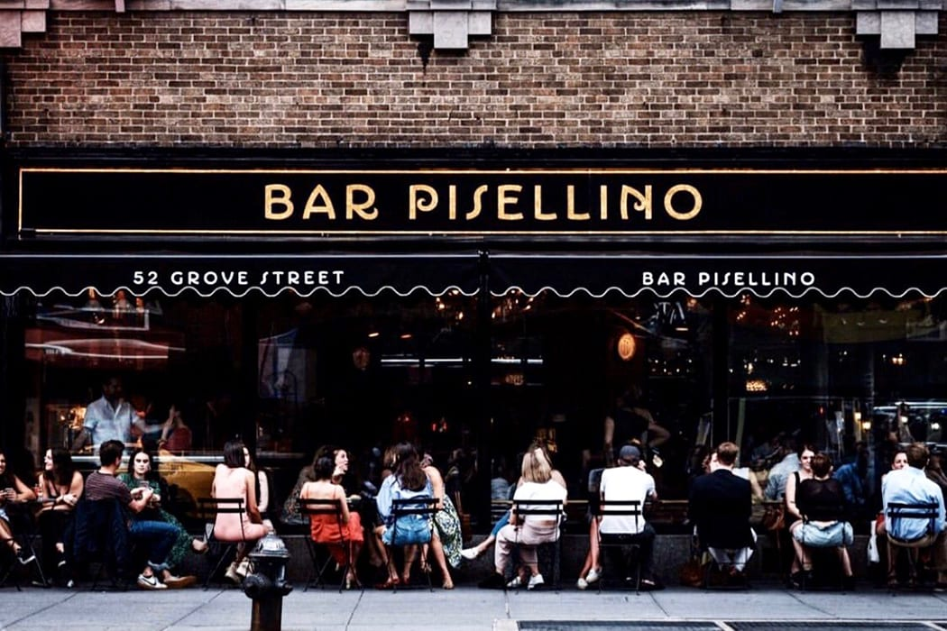 Bar Pisellino opened in the West Village last May.