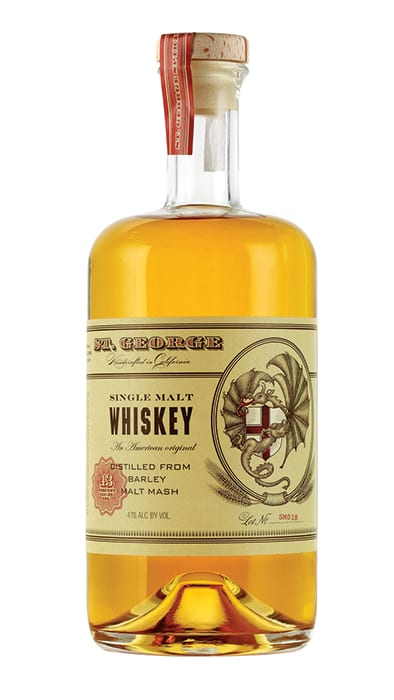 St. George Single Malt Whiskey. | $79.99, klwines.com