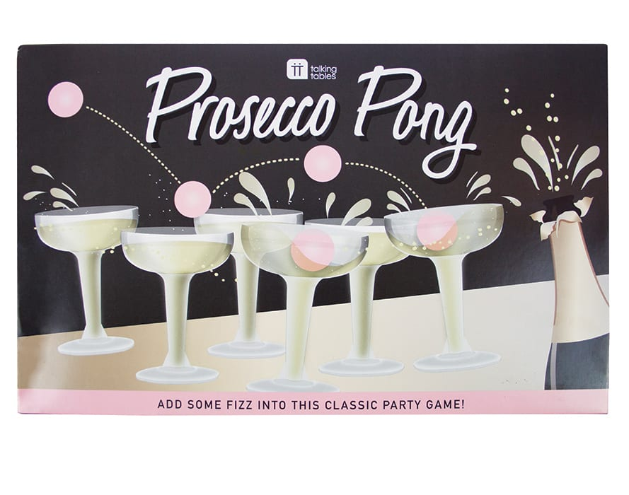Prosecco Pong. | $18.50, talkingtables.com
