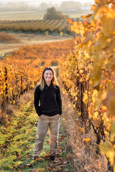 Wine Person of the Year: Mimi Casteel sees the effects of habitat loss and the onset of climate change and is inspiring fellow winemakers to follow her example. | Photo by Aubrie Legault.