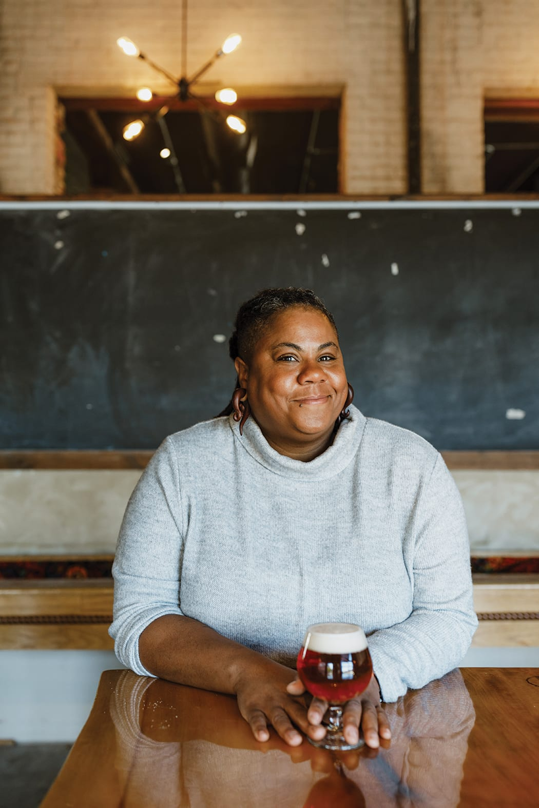 Beer Person of the Year: Dr. J. Nikol Jackson-Beckham, the diversity ambassador for the Brewer's Association is working to make the beer world more inclusive. | Photo by Kate Thompson.