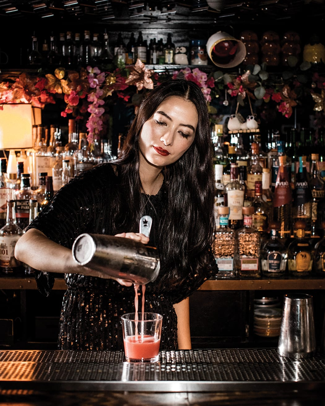 Bartender of the Year: Natasha David is shining light on what it means to be a working mother and female mentor in the hospitality world. | Photo by Eric Medsker.