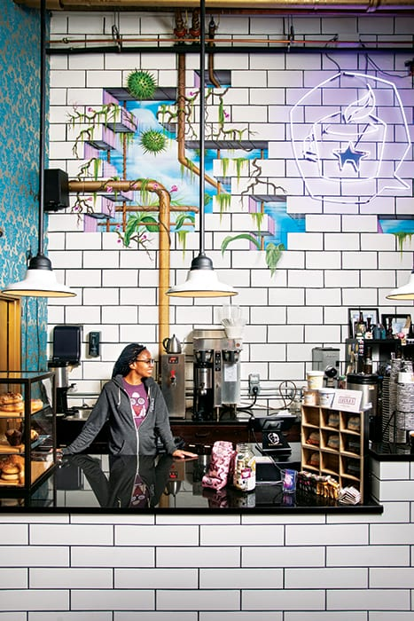 Coffee Bar of the Year: Dark Matter Coffee in Chicago is showing what it means for a business to truly contribute to its local community. | Photo by Matthew Gilson.