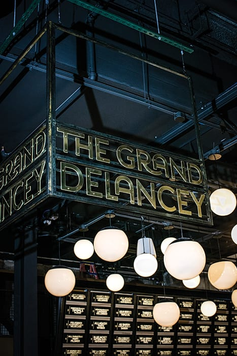Grand Delancey is the first NYC bar from Neighborhood Restaurant Group, the beer-focused Washington, D.C., company behind ChurchKey and Bluejacket.