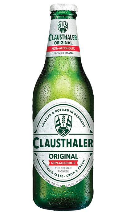 Clausthaler   Original Non-Alcoholic.   $6.99/6-pack, totalwine.com