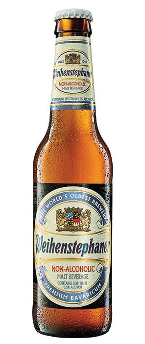 Weihenstephaner   Non-Alcoholic Malt Beverage.    $12.49/6-pack, holidaywinecellar.com