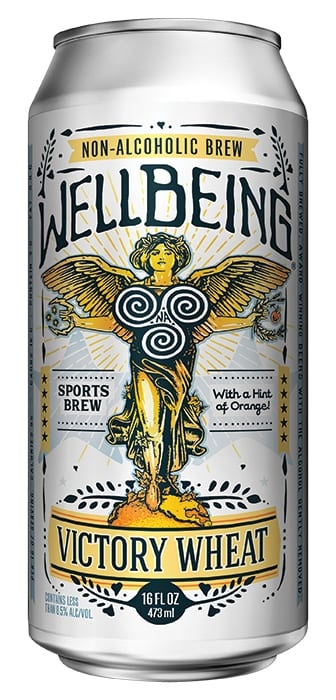 WellBeing Brewing | Victory Wheat. | $9.99/4-pack, wellbeingbrewing.com