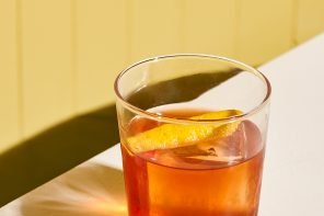 Man in the Yellow Hat: A Rye Whiskey Cocktail