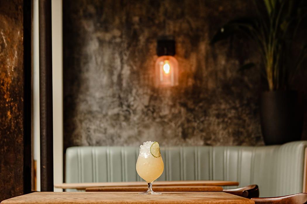 winter tiki cocktail