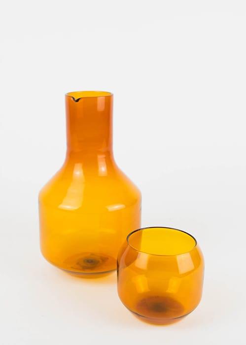 Italian Glass Carafe. | $210, humanconditionsf.com