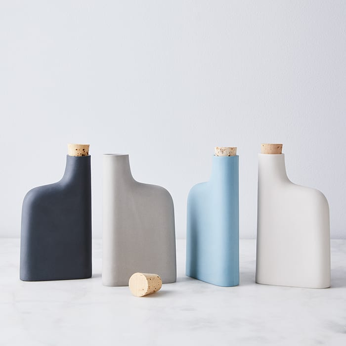 Modern Porcelain Flask. | $40, food52.com. | Photo by Ty Mecham/Food52